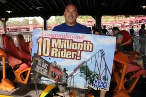 Diamondback Gives it's 10 Millionth Ride at Kings Island