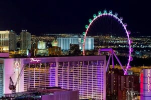 "Checking Out The 550-foot ""High Roller"" Observation Wheel in Las Vegas"