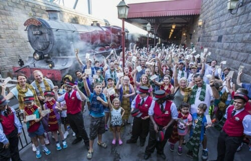 Universal Orlando Celebrates A Major Milestone With Hogwarts Express Millionth Rider