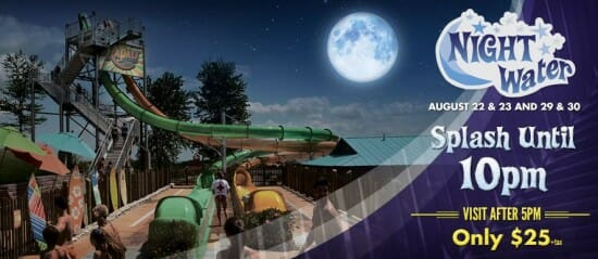 silver dollar city white water night event