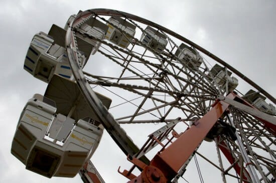 2 Kids Hurt in Fall From Ferris Wheel