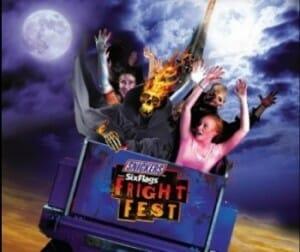 Fright Fest coaster