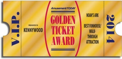 Kennywood golden ticket