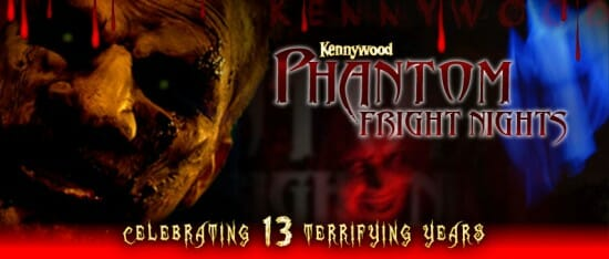 kennywood Phantom Fright Nights