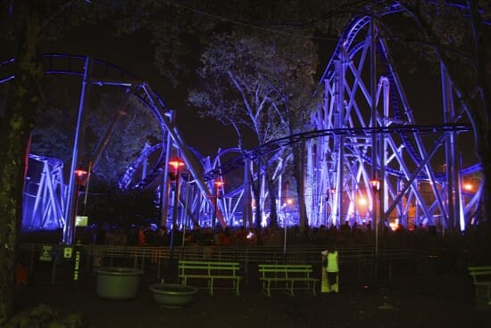 kennywood phantom fright nights Sky Rocket