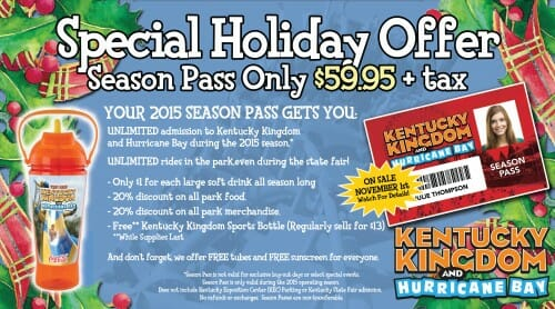 kentucky kingdom season pass
