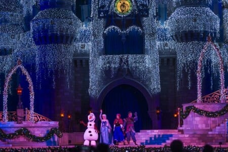 frozen holiday wish show