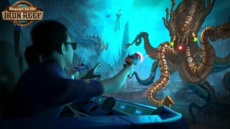 knotts voyage iron reef interactive