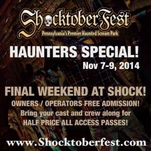 shocktoberfest coupon