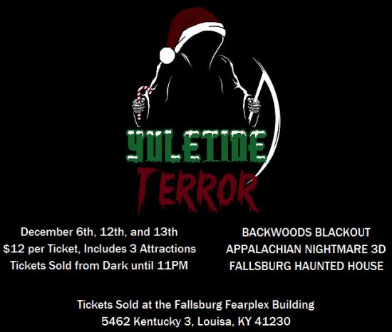 fallsburg fearplex haunted house christmas
