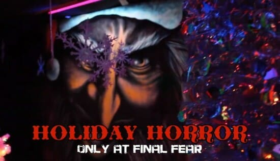 final fear haunted house christmas