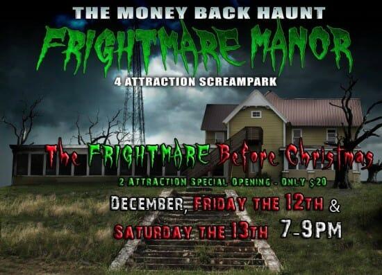 frightmare manor christmas