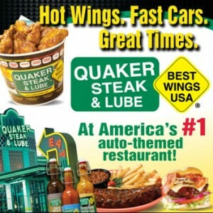 quaker steak number 1