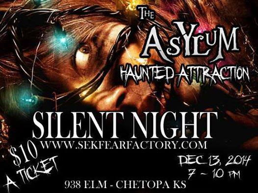 the asylum haunted attraction chtistmas