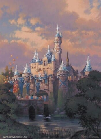 disney castle sparkle