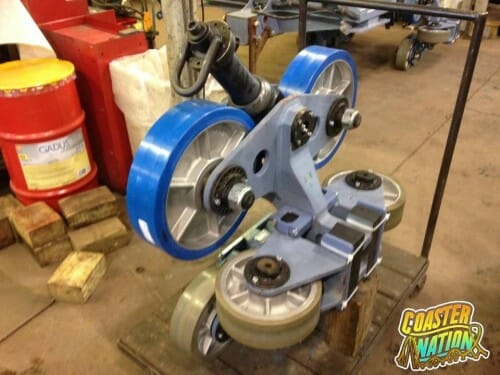 cedar point dragster wheels