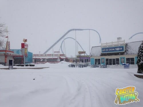 cedar point gatekeeper 2 snow