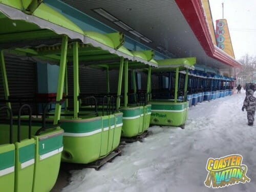 cedar point gondolas snow 1