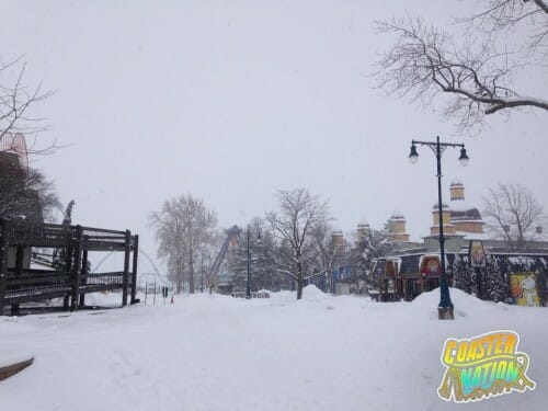 cedar point midway snow 3