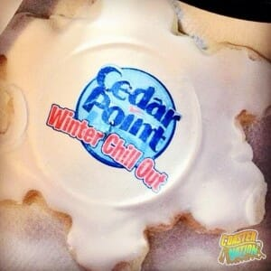 cedar point winter chill out cookie