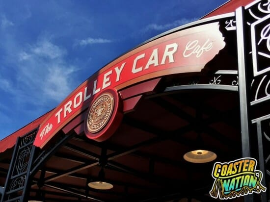 troley car logo coaster nation