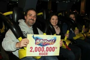 Kings Island's Banshee Ridership Numbers Are In…….