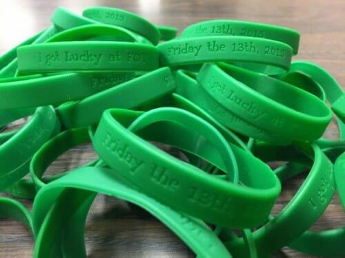 fot rubber bracelets