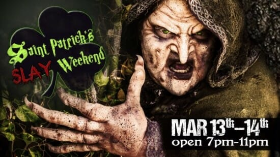 Dark Hour Haunted House Goes Green With St. Patrick's Themed Event