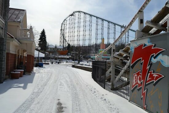 kennywood snow 1