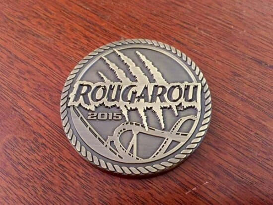 Cedar Point Rougarou Coin 033015