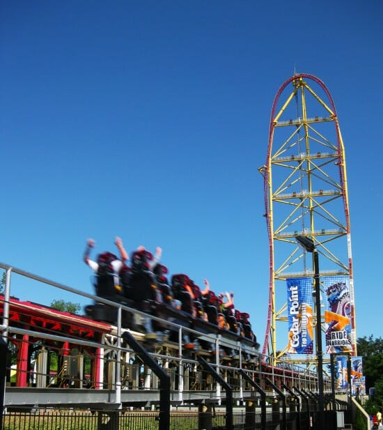 Cedar Point Top Thrill Dragster 2