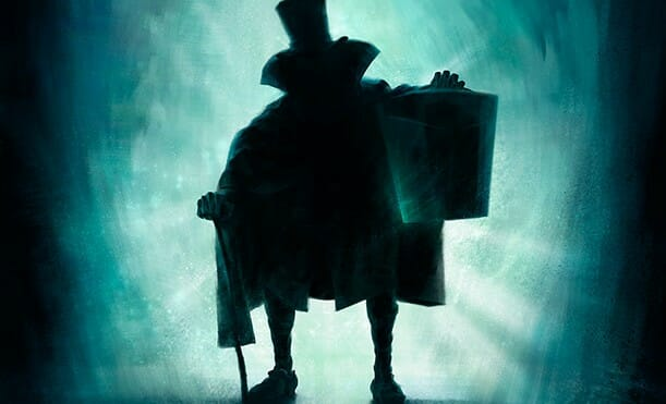 The HatBox Ghost Returns to the Haunted Mansion at Disneyland!
