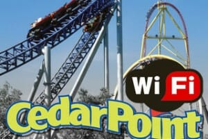 Cedar Point Talks Free In Park Wi-Fi