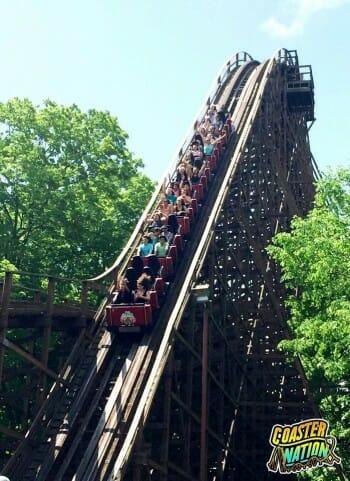 kings island beast rollercoaster