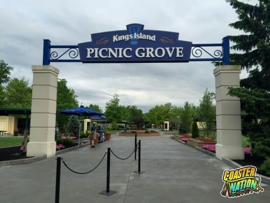kings island picnic grove