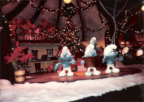 Kings Island Smurfs Enchanted Voyage