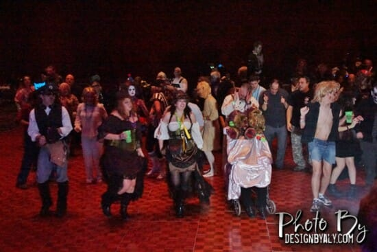 hauntcon costume ball