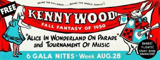kennywood fall fantasy vintage