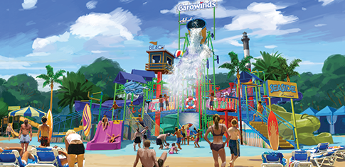 Carowinds Carolina Harbor Seaside Splashworks