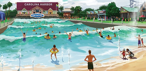 Carowinds Carolina Harbor Surf Club Harbor