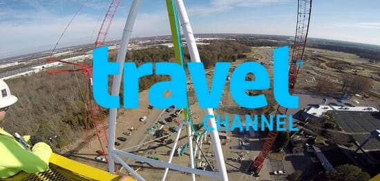 Carowinds Fury 325 Travel Channel