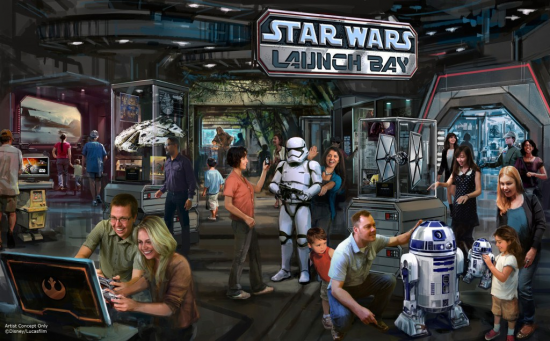 Star Tours Launch Bay