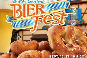 Busch Gardens Brings Oktoberfest To Williamsburg With BIER FEST