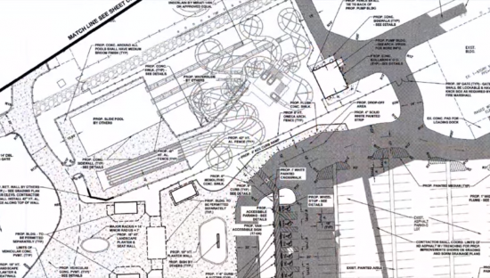 carowinds water park blueprint