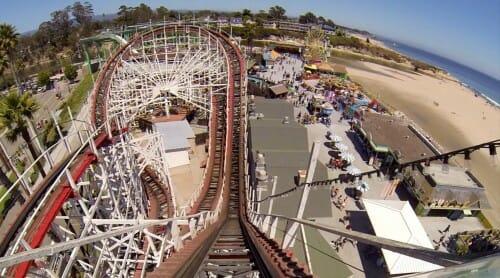 giant dipper coaster santa cruze boardwalk