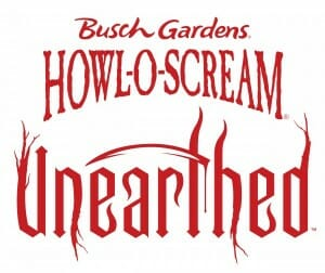 howl o screams unearthed logo
