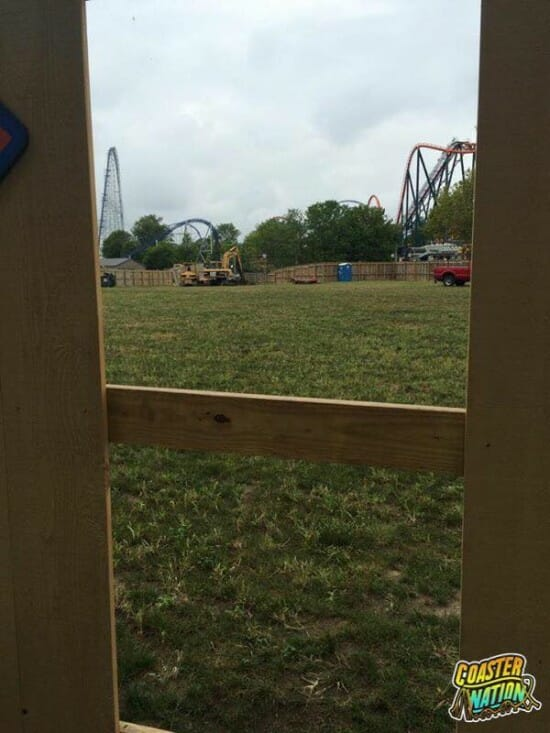 Cedar Point Valravn Site Peek A Boo