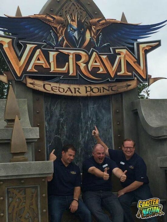 Cedar Point Valravn Throne