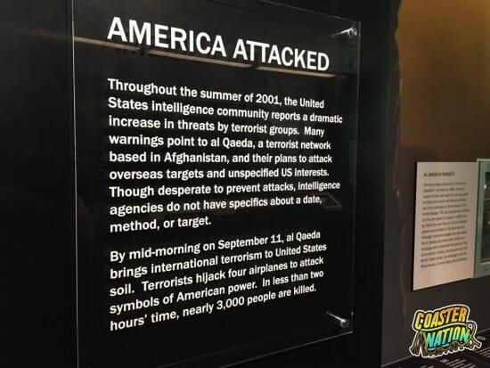 Flight 93 America Attacked Sign