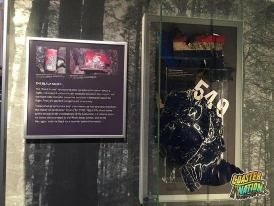 Flight 93 Black Boxes Sign